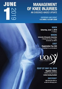 Management of Knee Injuries: An Evidence Based Update Banner