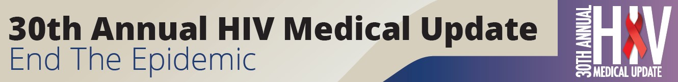 30th Annual HIV Medical Update Banner