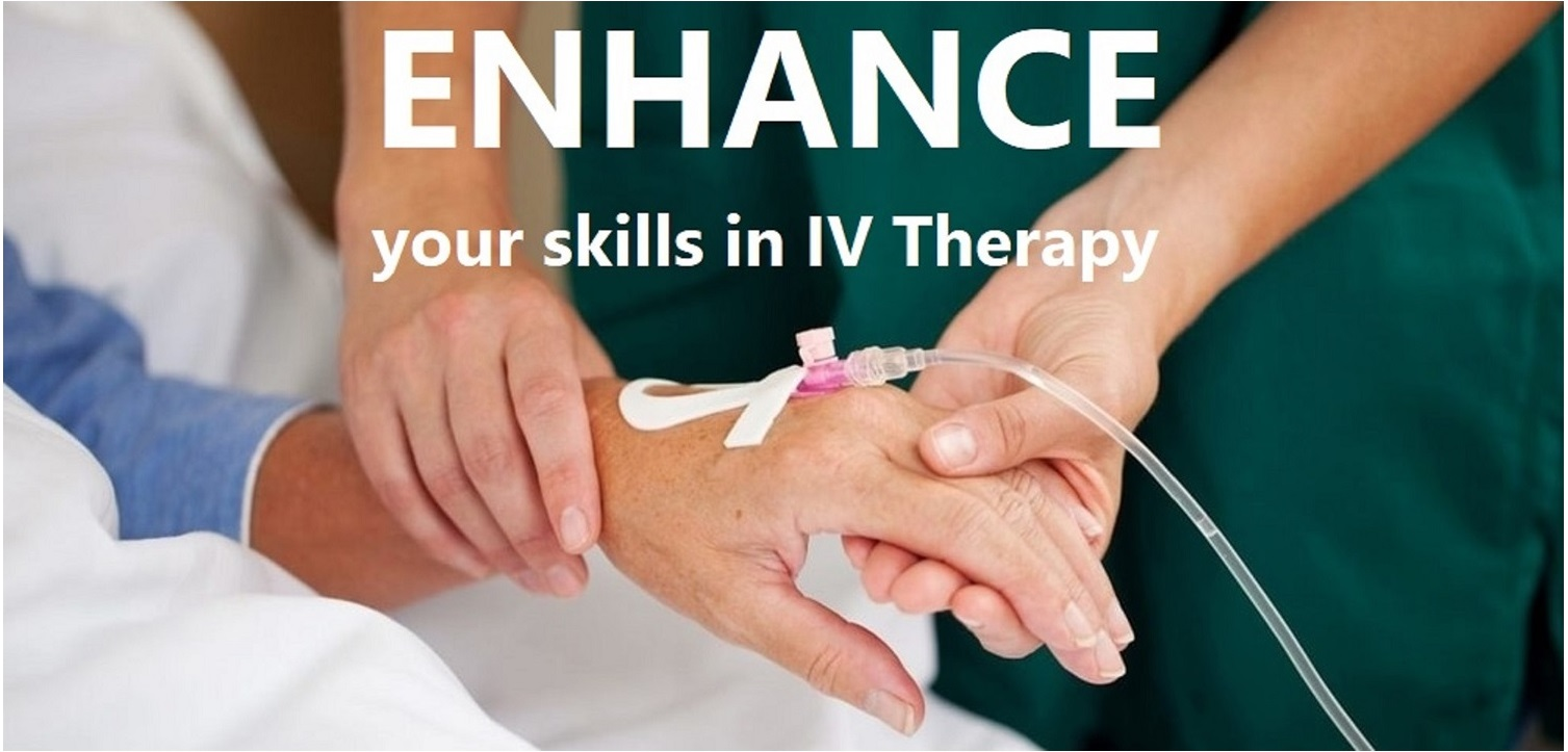 IV Therapy Training Course - Saturday, October 17, 2020 Banner