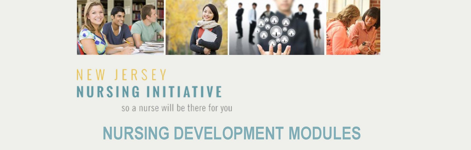 New Jersey Nursing Initiative: Nursing Development Modules - Organization Registration Banner