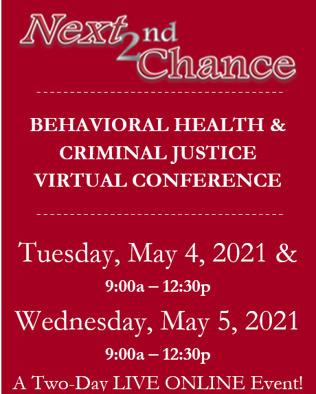 TAC: Next 2nd Chance Behavioral Health and Criminal Justice Conference - That's a Wrap Banner