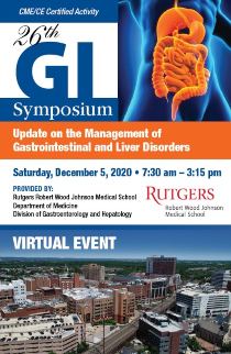 26th GI Symposium: Update on the Management of Gastrointestinal and Liver Disorders Banner