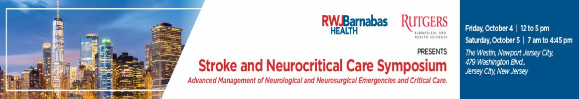 Stroke and Neurocritical Care Symposium:  Advanced Management for Neurological and Neurosurgical Emergencies and Critical Care Banner