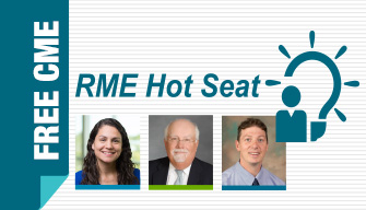 RME Hot Seat: Incorporating Personalized Treatment Into Severe Asthma Management Banner